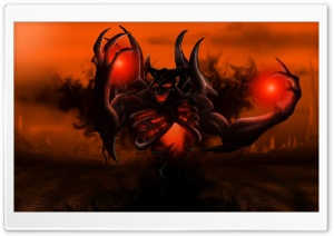 Shadow Fiend Dota 2 HD Wide Wallpaper for Widescreen