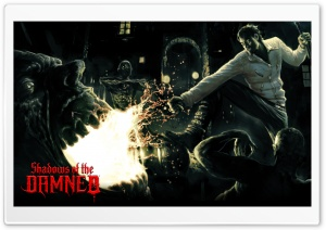 Shadows Of The Damned HD Wide Wallpaper for Widescreen