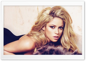 Shakira 2010 HD Wide Wallpaper for 4K UHD Widescreen desktop & smartphone