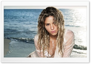 Shakira Mebarak 102 HD Wide Wallpaper for Widescreen