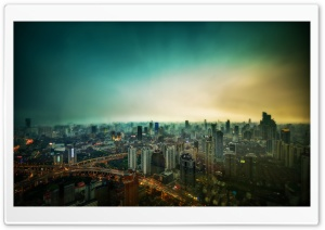 Shanghai HD Wide Wallpaper for Widescreen