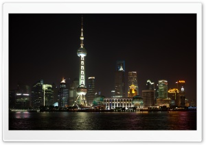 Shanghai China HD Wide Wallpaper for Widescreen