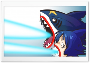 Sharkpedo Pokemon HD Wide Wallpaper for Widescreen