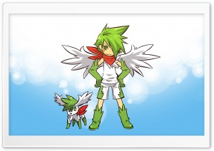 Shaymin Pokemon HD Wide Wallpaper for Widescreen