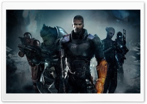 Shepard & his Team HD Wide Wallpaper for Widescreen