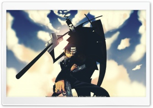 Shinigami and Kid HD Wide Wallpaper for Widescreen