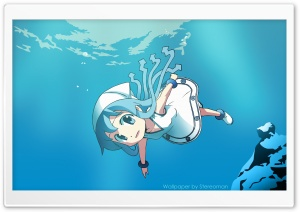 Shinryaku Ika Musume HD Wide Wallpaper for Widescreen