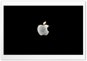 Shiny Apple HD Wide Wallpaper for Widescreen