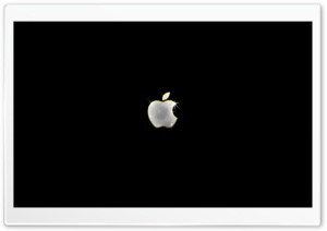 Shiny Apple Logo HD Wide Wallpaper for Widescreen