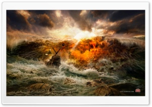 Ship Crash HD Wide Wallpaper for Widescreen