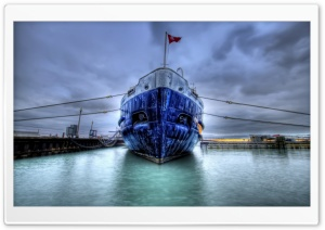 Ship HDR HD Wide Wallpaper for Widescreen
