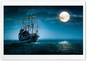 Ship, Sea HD Wide Wallpaper for Widescreen