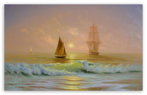 Ships On The Ocean Painting HD wallpaper for Wide 16:10 5:3 Widescreen WHXGA WQXGA WUXGA WXGA WGA ; HD 16:9 High Definition WQHD QWXGA 1080p 900p 720p QHD nHD ; Standard 4:3 5:4 3:2 Fullscreen UXGA XGA SVGA QSXGA SXGA DVGA HVGA HQVGA devices ( Apple PowerBook G4 iPhone 4 3G 3GS iPod Touch ) ; Tablet 1:1 ; iPad 1/2/Mini ; Mobile 4:3 5:3 3:2 16:9 5:4 - UXGA XGA SVGA WGA DVGA HVGA HQVGA devices ( Apple PowerBook G4 iPhone 4 3G 3GS iPod Touch ) WQHD QWXGA 1080p 900p 720p QHD nHD QSXGA SXGA ; Dual 5:4 QSXGA SXGA ;