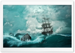 Shipwreck HD Wide Wallpaper for Widescreen