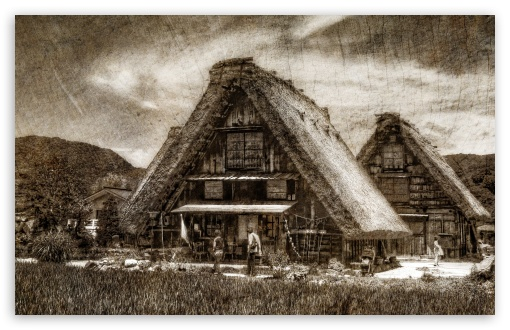 Shirakawago Farmhouse Woodblock HD wallpaper for Wide 16:10 5:3 Widescreen WHXGA WQXGA WUXGA WXGA WGA ; HD 16:9 High Definition WQHD QWXGA 1080p 900p 720p QHD nHD ; Standard 4:3 5:4 3:2 Fullscreen UXGA XGA SVGA QSXGA SXGA DVGA HVGA HQVGA devices ( Apple PowerBook G4 iPhone 4 3G 3GS iPod Touch ) ; Tablet 1:1 ; iPad 1/2/Mini ; Mobile 4:3 5:3 3:2 16:9 5:4 - UXGA XGA SVGA WGA DVGA HVGA HQVGA devices ( Apple PowerBook G4 iPhone 4 3G 3GS iPod Touch ) WQHD QWXGA 1080p 900p 720p QHD nHD QSXGA SXGA ;