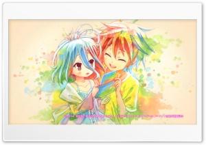 Shiro and Sora Ultra HD Wallpaper for 4K UHD Widescreen desktop, tablet & smartphone