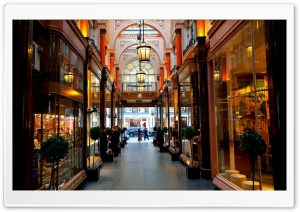 Shopping Arcade HD Wide Wallpaper for Widescreen