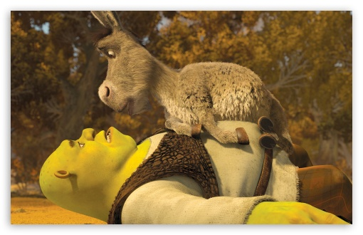 Shrek and Donkey HD wallpaper for Wide 16:10 5:3 Widescreen WHXGA WQXGA WUXGA WXGA WGA ; HD 16:9 High Definition WQHD QWXGA 1080p 900p 720p QHD nHD ; Standard 4:3 5:4 3:2 Fullscreen UXGA XGA SVGA QSXGA SXGA DVGA HVGA HQVGA devices ( Apple PowerBook G4 iPhone 4 3G 3GS iPod Touch ) ; iPad 1/2/Mini ; Mobile 4:3 5:3 3:2 5:4 - UXGA XGA SVGA WGA DVGA HVGA HQVGA devices ( Apple PowerBook G4 iPhone 4 3G 3GS iPod Touch ) QSXGA SXGA ;