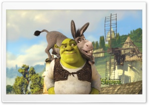 Shrek And Donkey, Shrek Forever After HD Wide Wallpaper for Widescreen