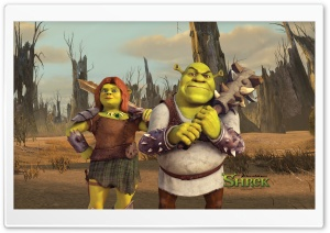 Shrek And Fiona, Shrek The Final Chapter HD Wide Wallpaper for Widescreen