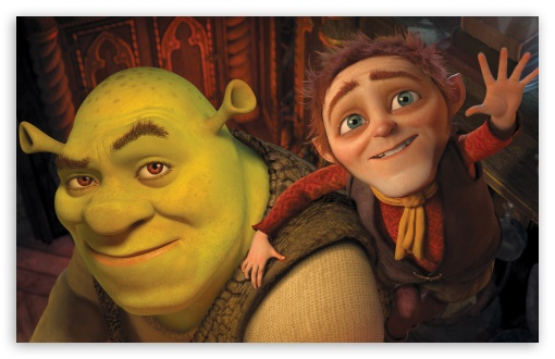 Shrek and Rumpelstiltskin, Shrek Forever After HD wallpaper for Wide 16:10 5:3 Widescreen WHXGA WQXGA WUXGA WXGA WGA ; HD 16:9 High Definition WQHD QWXGA 1080p 900p 720p QHD nHD ; Standard 4:3 5:4 Fullscreen UXGA XGA SVGA QSXGA SXGA ; iPad 1/2/Mini ; Mobile 4:3 5:3 5:4 - UXGA XGA SVGA WGA QSXGA SXGA ; Dual 4:3 5:4 UXGA XGA SVGA QSXGA SXGA ;