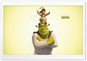 Shrek, Donkey and Puss in Boots, Shrek The Final Chapter HD Wide Wallpaper for Widescreen