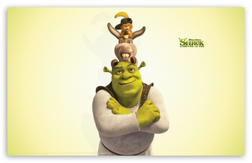 Shrek, Donkey and Puss in Boots, Shrek The Final Chapter HD wallpaper for Wide 16:10 5:3 Widescreen WHXGA WQXGA WUXGA WXGA WGA ; HD 16:9 High Definition WQHD QWXGA 1080p 900p 720p QHD nHD ; UHD 16:9 WQHD QWXGA 1080p 900p 720p QHD nHD ; Standard 4:3 5:4 3:2 Fullscreen UXGA XGA SVGA QSXGA SXGA DVGA HVGA HQVGA devices ( Apple PowerBook G4 iPhone 4 3G 3GS iPod Touch ) ; iPad 1/2/Mini ; Mobile 4:3 5:3 3:2 5:4 - UXGA XGA SVGA WGA DVGA HVGA HQVGA devices ( Apple PowerBook G4 iPhone 4 3G 3GS iPod Touch ) QSXGA SXGA ;