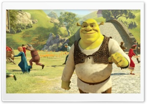 Shrek Forever After Movie HD Wide Wallpaper for 4K UHD Widescreen desktop & smartphone