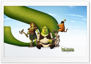 Shrek The Final Chapter HD Wide Wallpaper for Widescreen