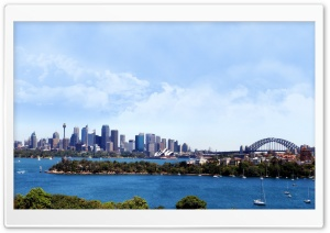 Sidney City HD Wide Wallpaper for Widescreen