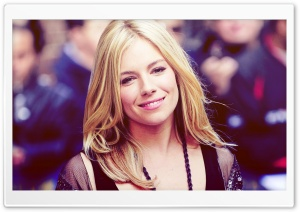 Sienna Miller HD Wide Wallpaper for Widescreen