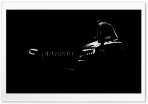 Silhouette Of An Audi HD Wide Wallpaper for Widescreen