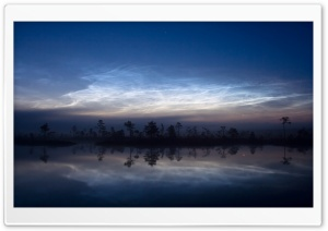 Silhouettes And Reflections HD Wide Wallpaper for Widescreen