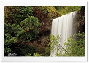 Silver Falls City, Oregon HD Wide Wallpaper for 4K UHD Widescreen desktop & smartphone
