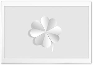 Silver Lucky Four Leaf Clover