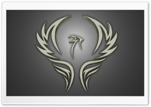 Silver Phoenix HD Wide Wallpaper for Widescreen