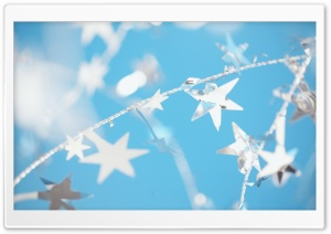Silver Stars HD Wide Wallpaper for Widescreen