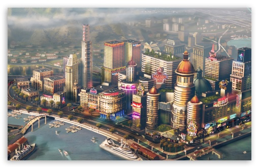 SimCity 2013 video game HD wallpaper for Wide 16:10 5:3 Widescreen WHXGA WQXGA WUXGA WXGA WGA ; HD 16:9 High Definition WQHD QWXGA 1080p 900p 720p QHD nHD ; Mobile 5:3 16:9 - WGA WQHD QWXGA 1080p 900p 720p QHD nHD ; Dual 5:3 16:9 WGA WQHD QWXGA 1080p 900p 720p QHD nHD ;