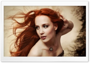 Simone Simons HD Wide Wallpaper for Widescreen