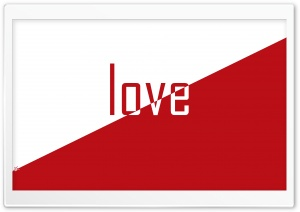 Simple As Love HD Wide Wallpaper for Widescreen