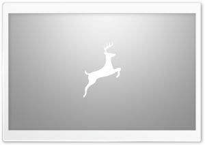 Simple Deer Art Gray Ultra HD Wallpaper for 4K UHD Widescreen desktop, tablet & smartphone