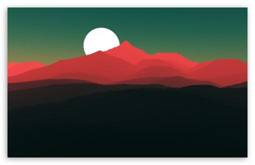 Simple Flat Design Illustration Ultra Hd Desktop Background