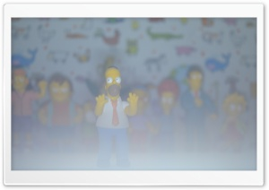 Simpsons HD Wide Wallpaper for Widescreen