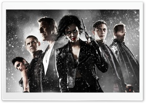 Sin City A Dame to Kill For 2014 Movie HD Wide Wallpaper for 4K UHD Widescreen desktop & smartphone