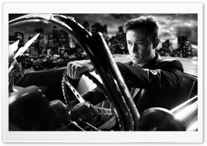 Sin City A Dame to Kill For Joseph Gordon Levitt HD Wide Wallpaper for Widescreen