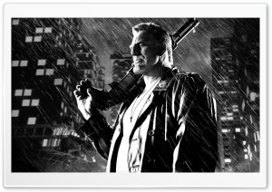 Sin City A Dame to Kill For Mickey Rourke as Marv HD Wide Wallpaper for Widescreen