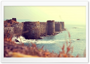 Sindhudurg Fort, Maharashtra, India HD Wide Wallpaper for 4K UHD Widescreen desktop & smartphone
