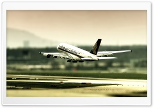 Singapore Airlines HD Wide Wallpaper for Widescreen