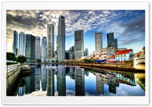 Singapore City HD Wide Wallpaper for Widescreen