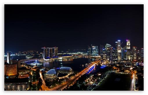 Singapore Night Panorama HD wallpaper for Wide 16:10 5:3 Widescreen WHXGA WQXGA WUXGA WXGA WGA ; HD 16:9 High Definition WQHD QWXGA 1080p 900p 720p QHD nHD ; UHD 16:9 WQHD QWXGA 1080p 900p 720p QHD nHD ; Mobile 5:3 16:9 - WGA WQHD QWXGA 1080p 900p 720p QHD nHD ; Dual 16:10 5:3 16:9 4:3 5:4 WHXGA WQXGA WUXGA WXGA WGA WQHD QWXGA 1080p 900p 720p QHD nHD UXGA XGA SVGA QSXGA SXGA ;